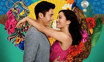 image gros plan affiche crazy rich asians jon m. chu