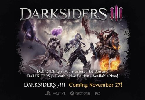 image xbox one x darksiders