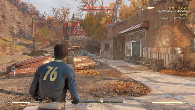image gameplay fallout 76