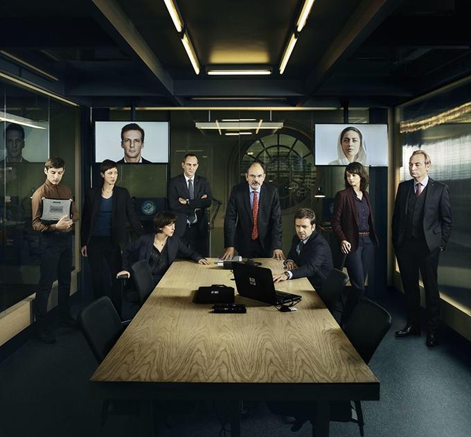 image promo shot casting le bureau des légendes