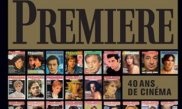image gros plan couverture première 40 ans de cinéma hors collection