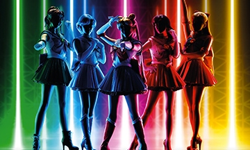 image gros plan affiche pretty guardian sailor moon the super live