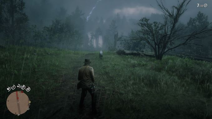 image chasse red dead redemption 2
