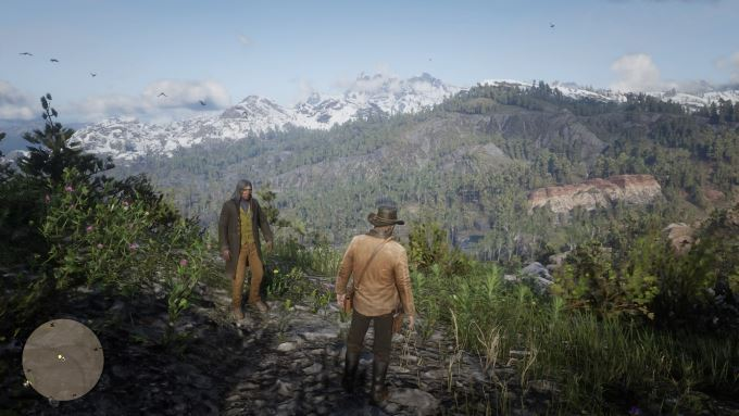 image jeu red dead redemption 2