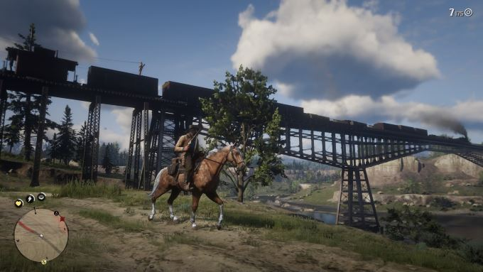 image train red dead redemption 2