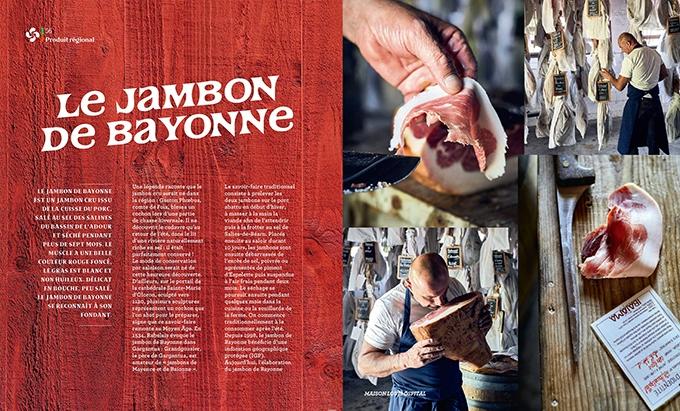 image jambon de bayonne cuisine basque livre hachette