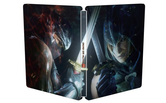 image steelbook dead or alive 6