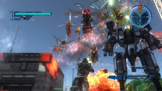 image jeu earth defense force 5