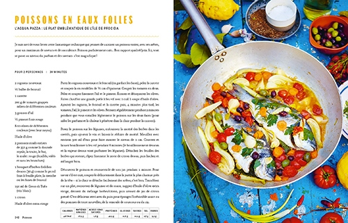 image poissons en eaux folles jamie cuisine l'italie jamie oliver hachette pratique