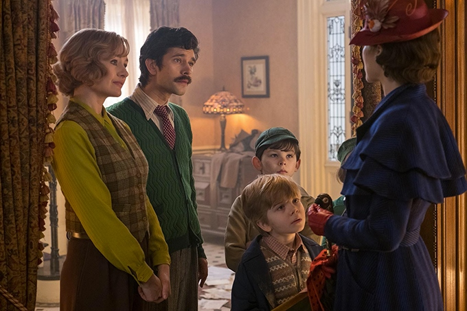 image emily mortimer ben whishaw emily blunt le retour de mary poppins