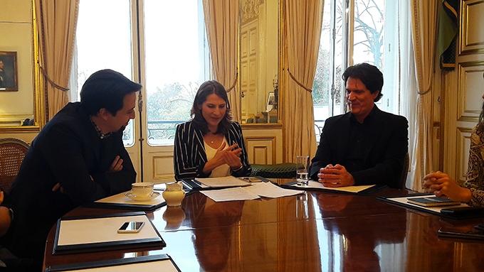 image table ronde parisienne le retour de mary poppins lin-manuel miranda rob marshall