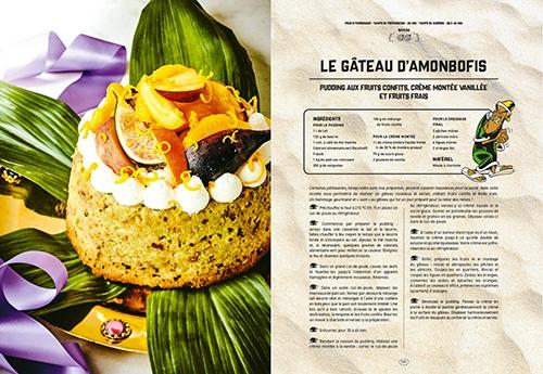 image gâteau d'amonbofils les banquets d'astérix gastronogeek hachette heroes