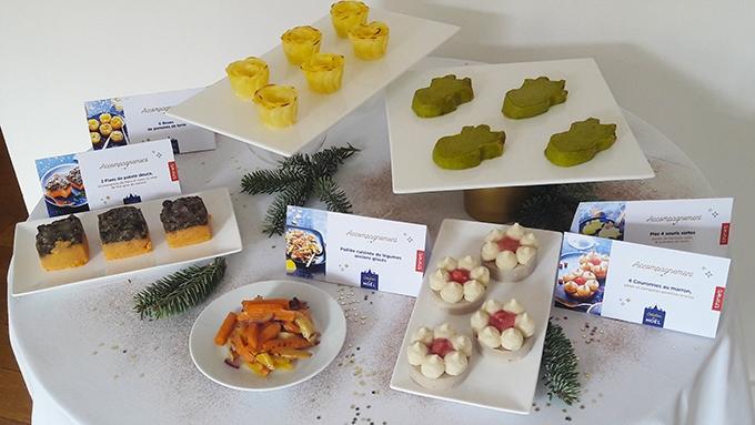image flans à la patate douce couronnes marron céleri pomme et entrées chaudes thiriet collection noël 2018