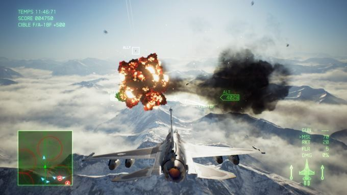 image playstation 4 ace combat 7