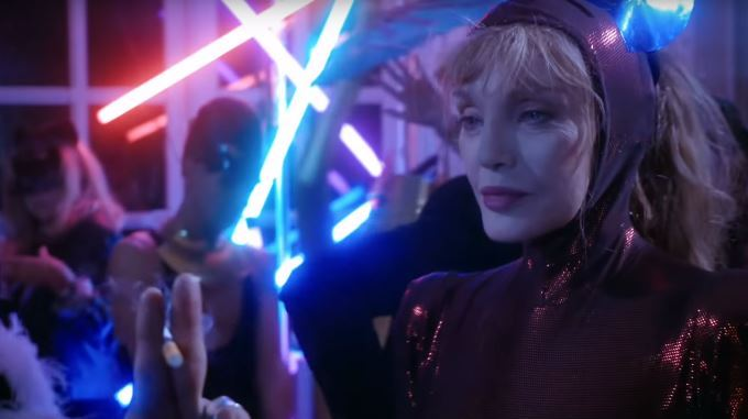 image arielle dombasle alien crystal palace