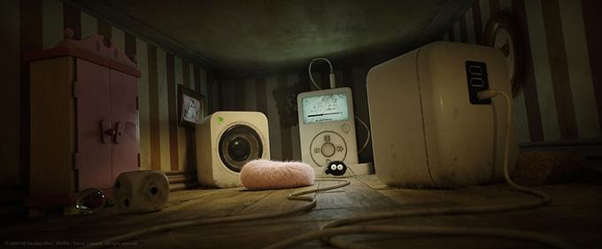 image maison de poupée araignée ipod minuscule 2 les mandibules du bout du monde