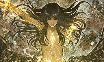 image gros plan couverture monstress tome 3 éditions delcourt