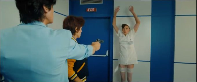 image nicky larson braque une infirmière nicky larson et le parfum de cupidon