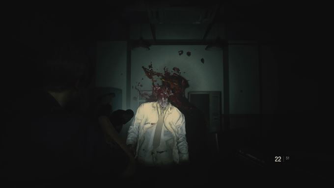 image gameplay resident evil 2 remake