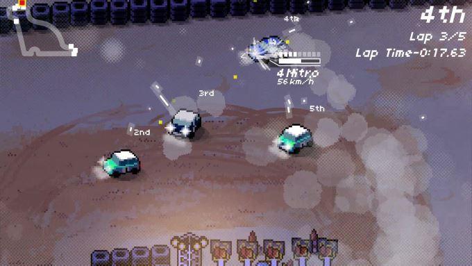 image playstation 4 super pixel racers
