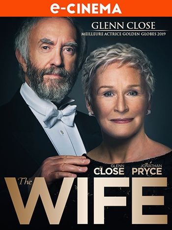 image affiche ecinema the wife avec jonathan pryce et glenn close