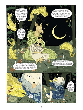 image planche 3 dans la forêt des lilas nathalie ferlut tamia baudouin éditions delcourt