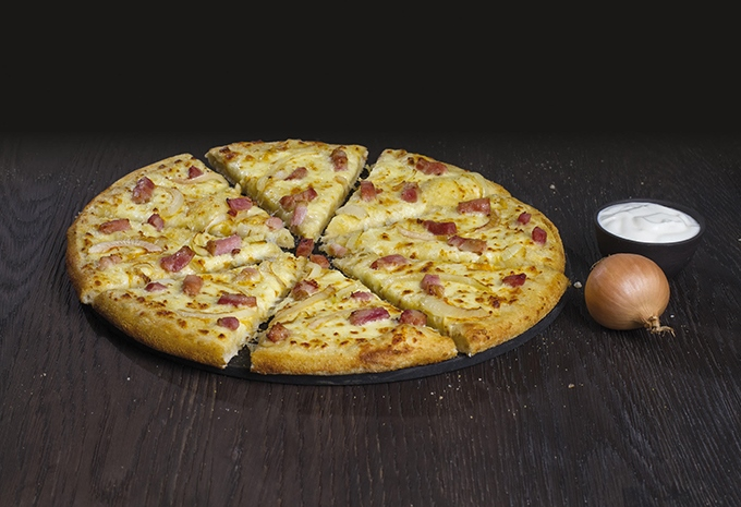 image pizza creamy onion domino's pizza