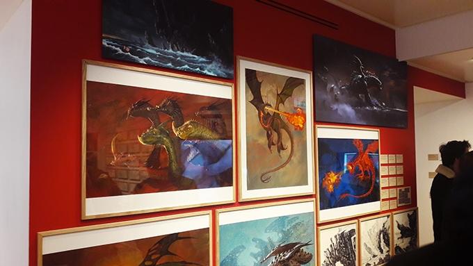 image peintures numériques exposition dragons art ludique hors les murs paris