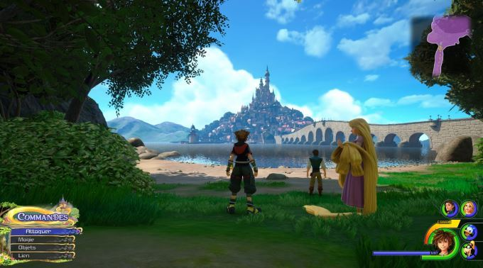 image raiponce kingdom hearts 3