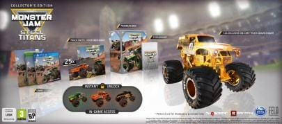 image collector monster jam steel titans