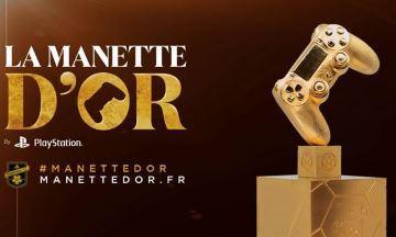 image article manette d'or playstation france