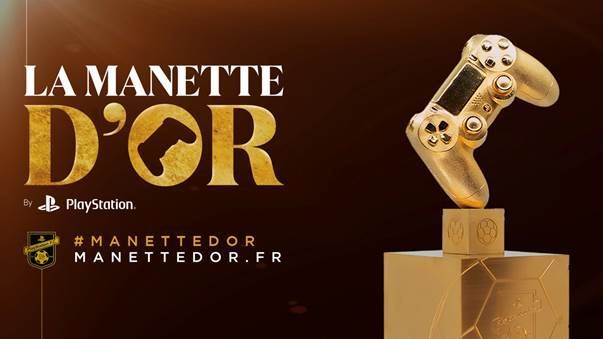 image manette d'or playstation france