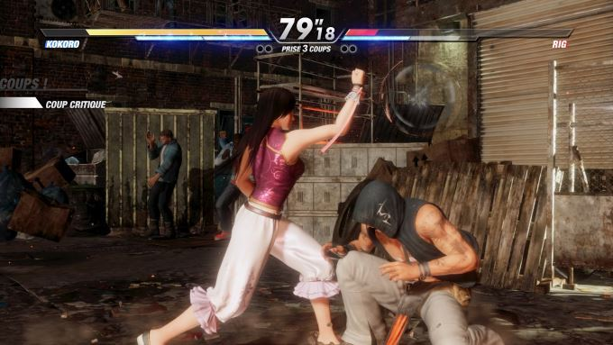 image gameplay dead or alive 6