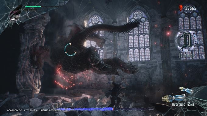 image gameplay devil may cry 5