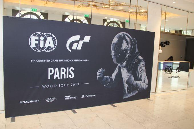 image paris fia gran turismo championship 2019