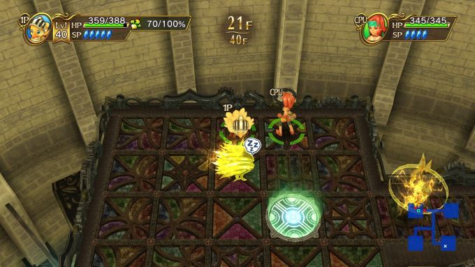 image gameplay chocobo's mystery dungeon every buddy