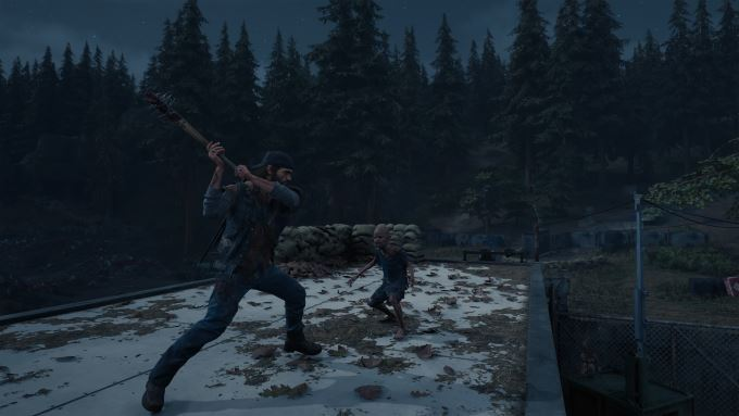 image jeu playstation 4 days gone