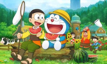 image doraemon story of seasons