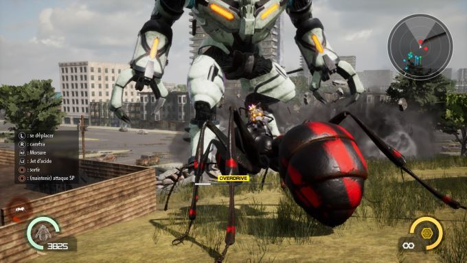 image gameplay earth defense force iron rain