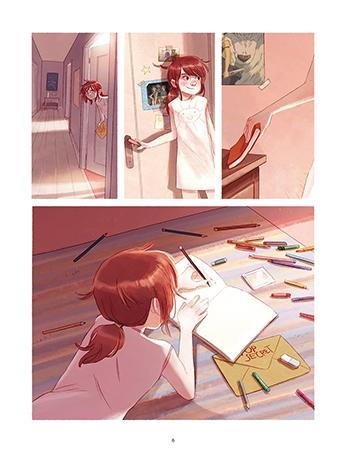 image planche 2 les carnets de cerise et valentin joris chamblain aurélie neyret