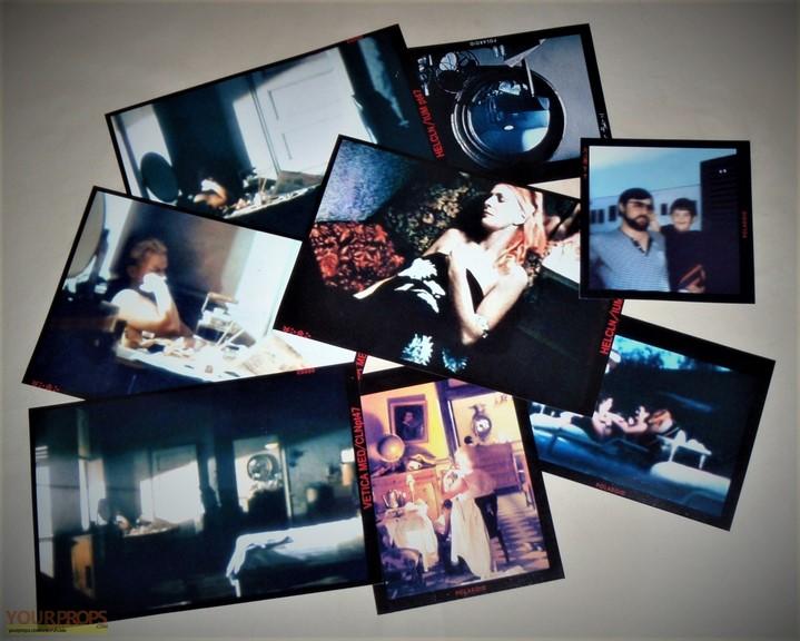 Les photographies des replicants dans le film Blade Runner de Ridley Scott (1982).