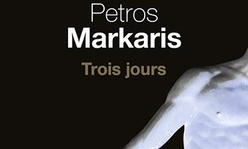 image gros plan couverture trois jours petros markaris éditions du seuil