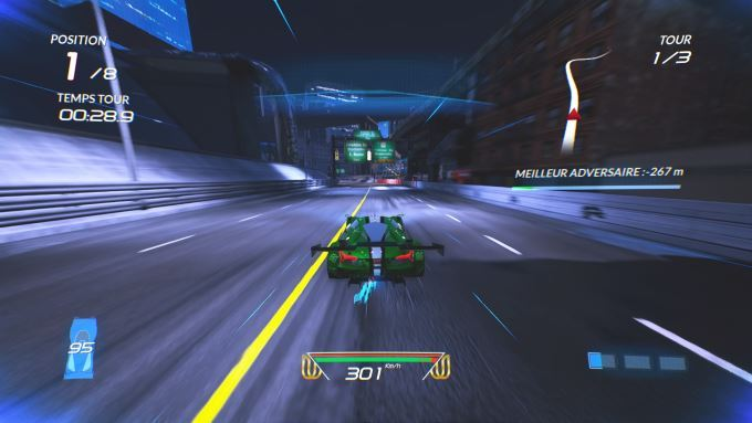 image gameplay xenon racer