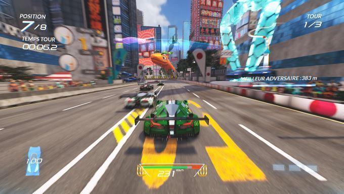 image test xenon racer