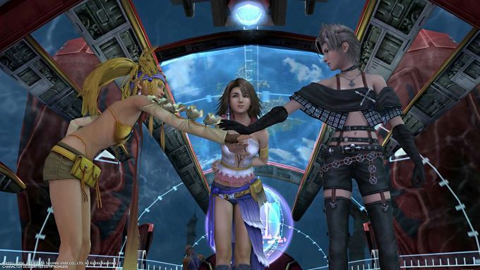 image gameplay final fantasy x-2