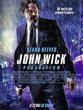 image affiche john wick parabellum avec keanu reeves