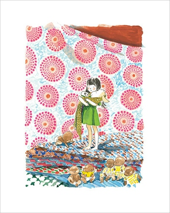 image planche B l'extraordinaire abécédaire de zoé marmelade de guillaume bianco et marie pommepuy