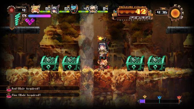 image gameplay lapis x labyrinth