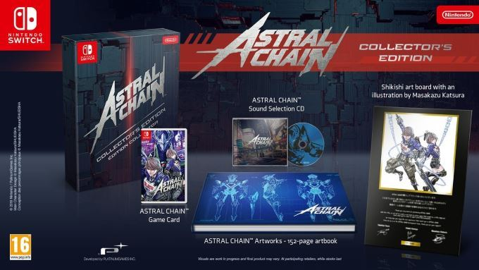 image edition collector astral chain