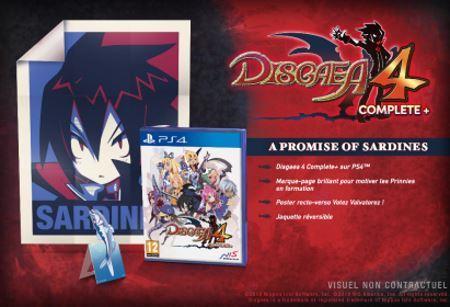 image edition collector disgaea 4 complete